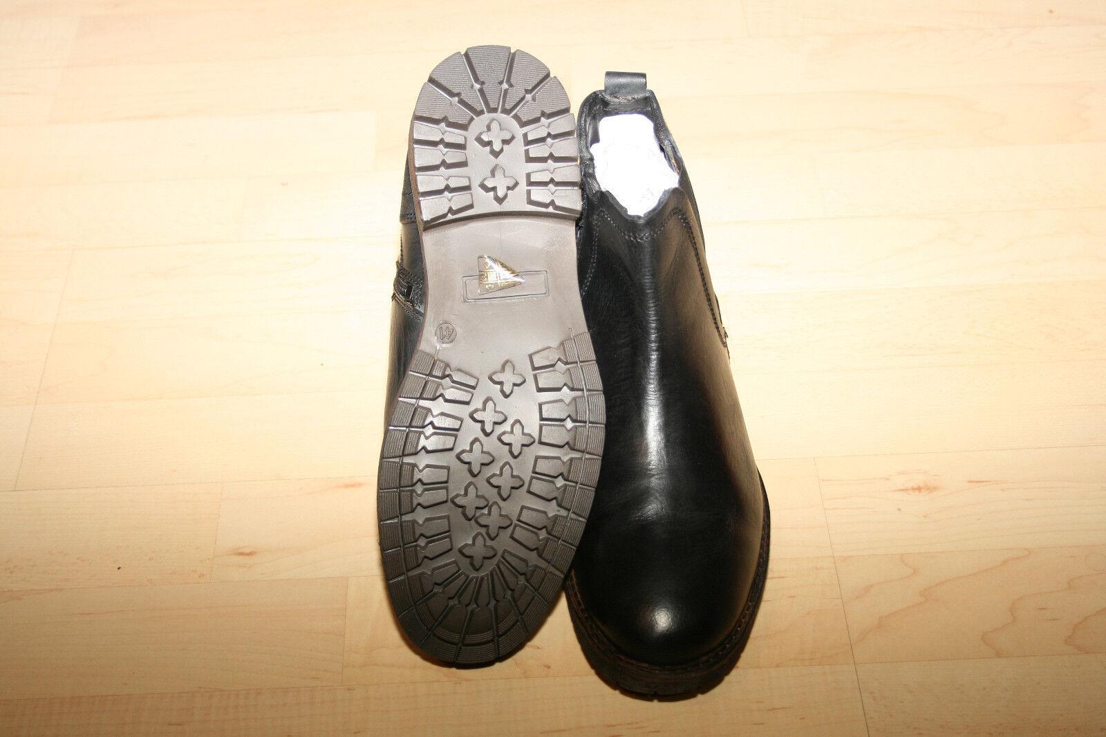 Herren Stiefeletten Chelsea Boots Leder Neu