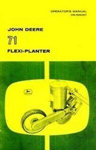John-Deere-71-Flexi-Vegetable-Planter-Operators-Manual