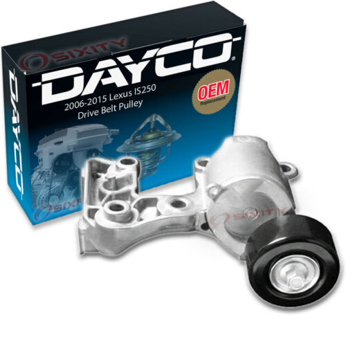 Dayco Drive Belt Tensioner Assembly for 2006-2015 Lexus IS250 Engine Pully wj