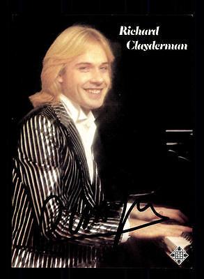 Musik Richard Clayderman Autogrammkarte Original Signiert ## Bc 87269 Rabatte Verkauf