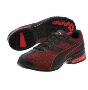Details about NIB Men's PUMA size 10.5 tazon 6 knit sneakers black toreador 189971 01