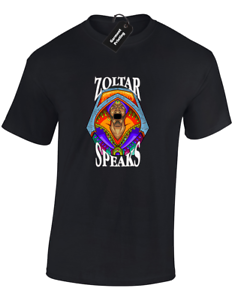 COL ZOLTAR SPEAKS MENS T-SHIRT FUNNY BIG TOM RETRO DESIGN CLASSIC HANKS JOKE