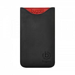 Original-Bugatti-Handy-Leder-Tasche-Skinny-Glowing-Coal-SL-fur-Sony-Ericsson