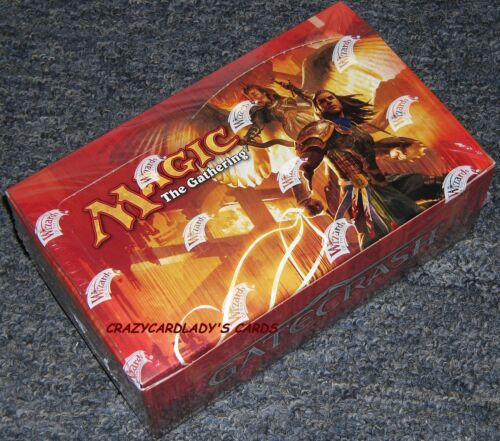 MAGIC THE GATHERING GATECRASH BOOSTER 1/4 BOX = LOT OF 9 PACKS FACTORY SEALED