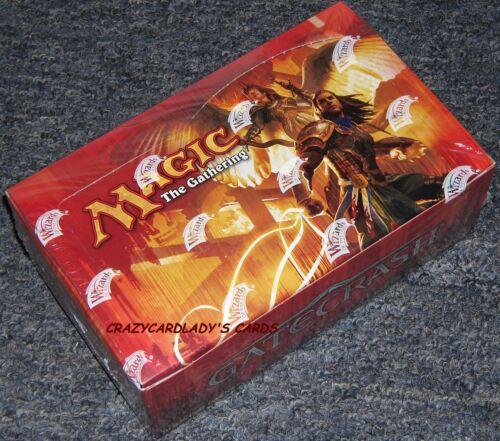 MAGIC THE GATHERING GATECRASH BOOSTER 1/4 BOX = LOT OF 9 PACKS FACTORY SEALED