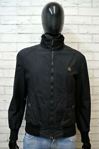 REFRIGIWEAR-Uomo-Giacca-Giubbotto-Nero-Taglia-L-Giubbino-Jacket-Men-039-s-Black