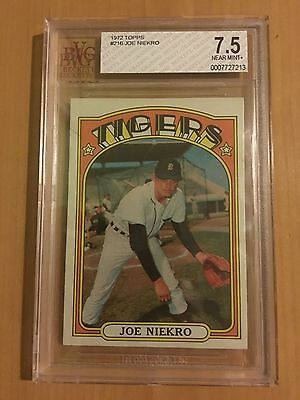 Honkbal 1972 Topps #216 Joe Niekro Detroit Tigers Baseball Card
