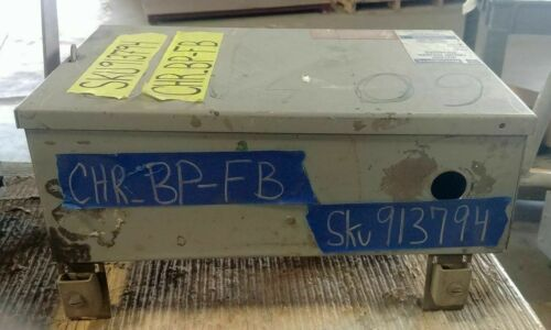 BP-FB 150 Amp 3Pole 600VAC 3 Phase 3 Wire Bus Plug Enclosure Eaton Cutler-Hammer