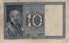 10 LIRE - 1938 - REGNO D'ITALIA SERIE 0330-661684    SC-7