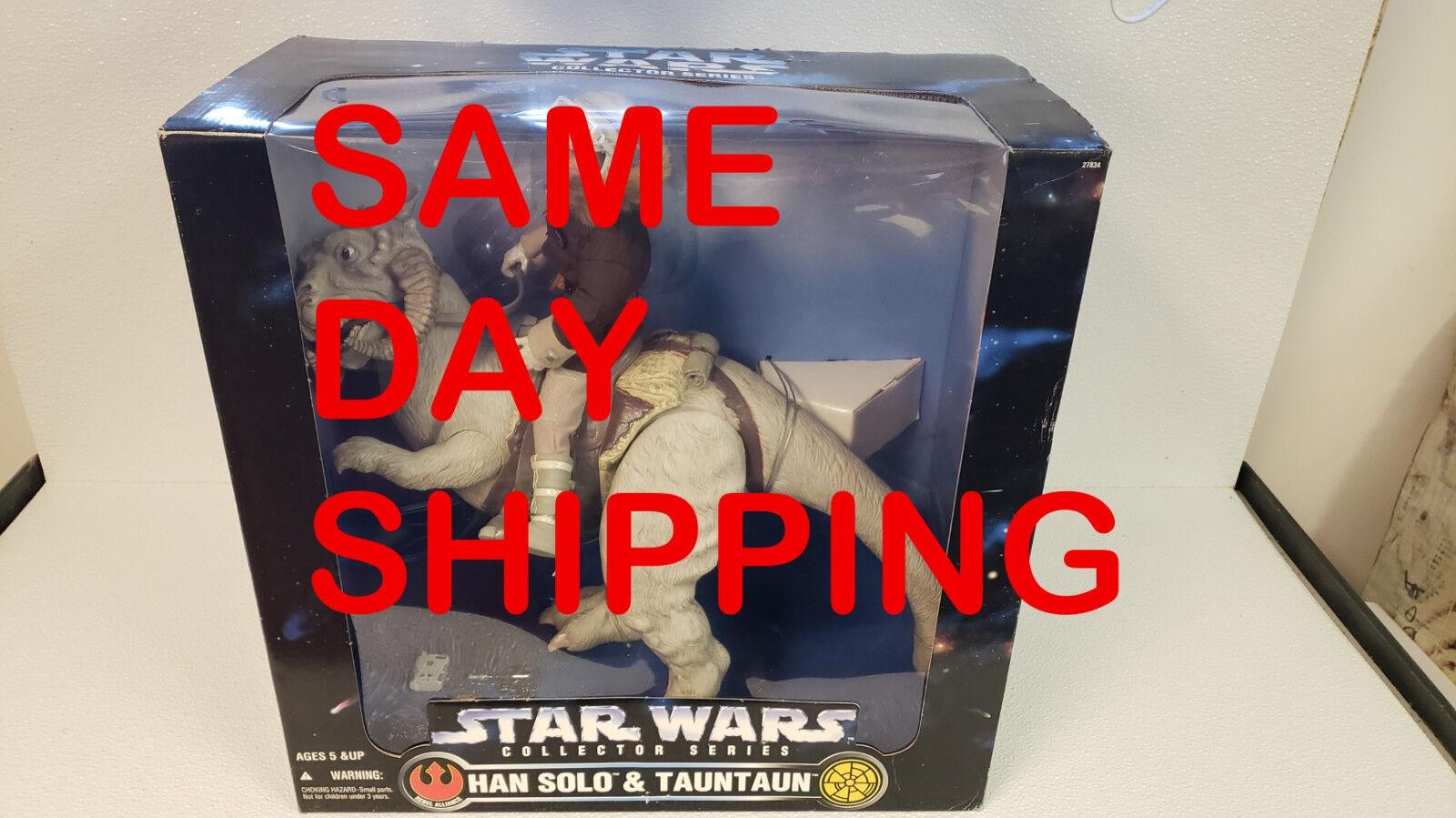 moda clasica Serie de coleccionista de Estrella Wars Han Han Han Solo & Tauntaun artículo 800205-R1  edición limitada
