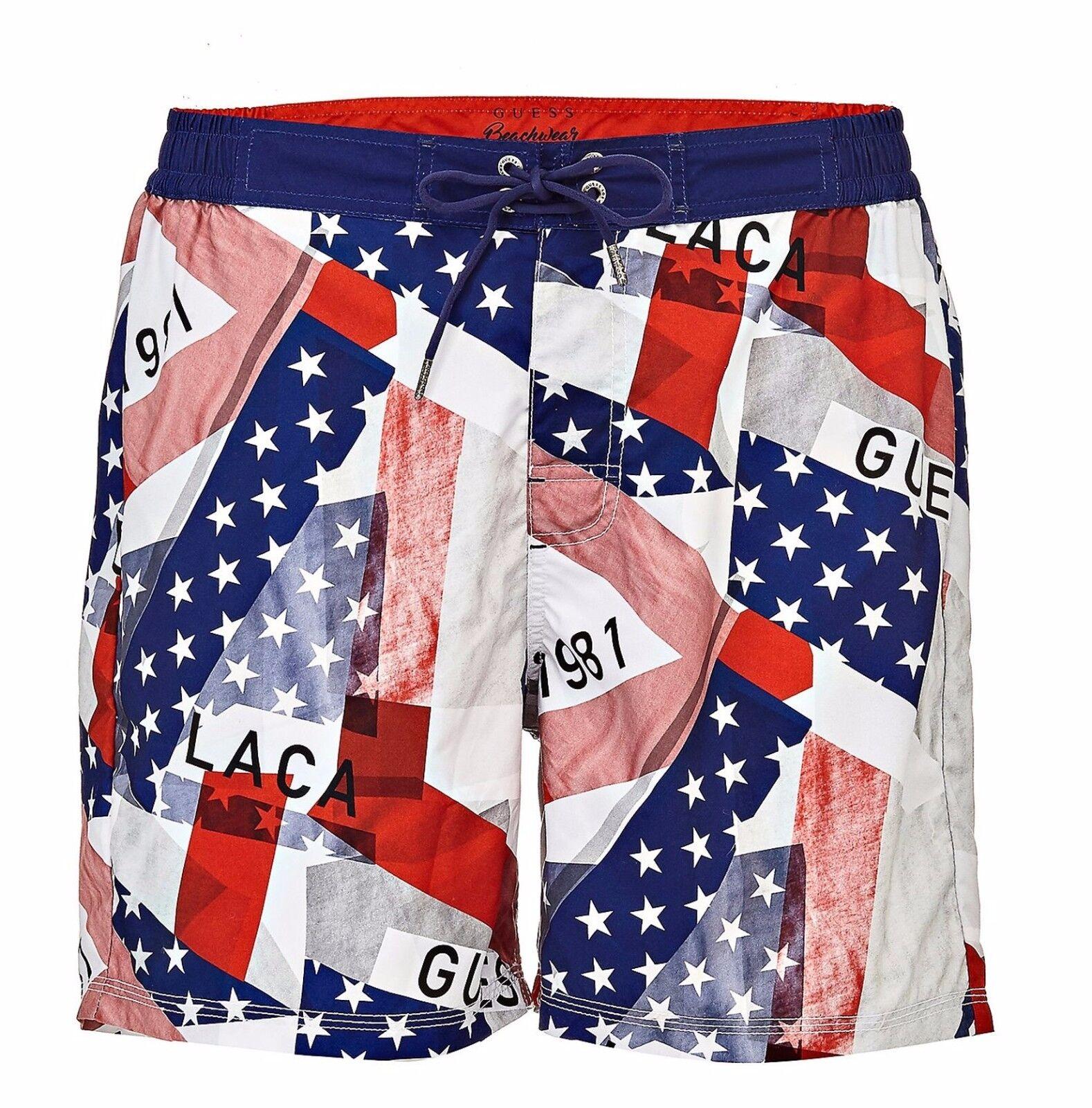 Guess Men's Swimming Trunks Shorts F74t02