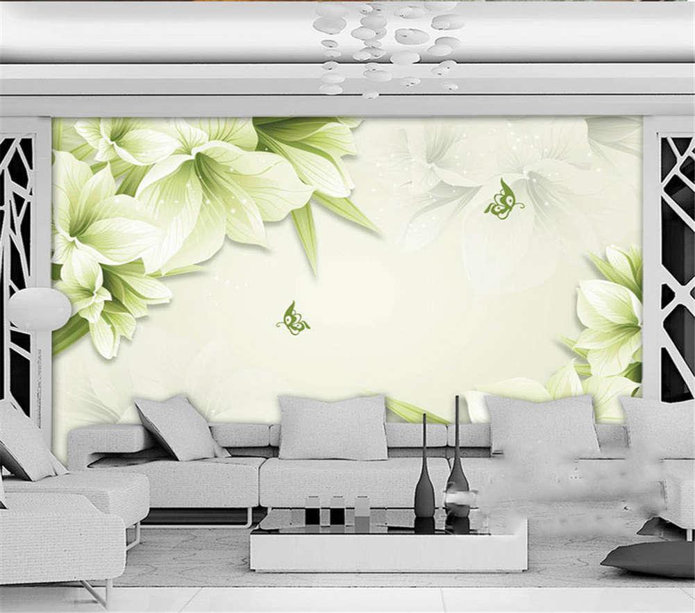 Marm Summer Flowers 3D Full Wall Mural Photo Wallpaper Printing Home Kids Decor