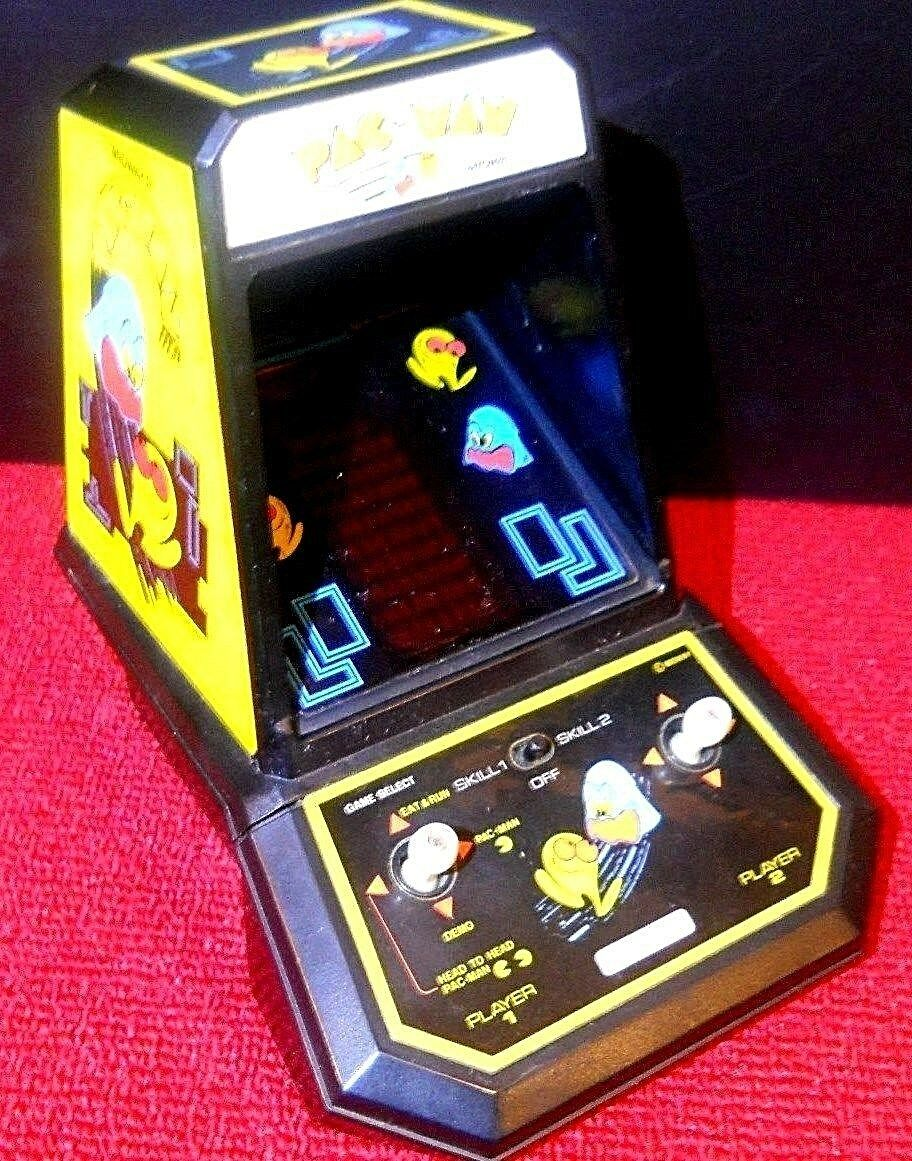 COLECO PAC-MAN TABLE TOP MINI ARCADE GAME BY MIDWAY WORKS