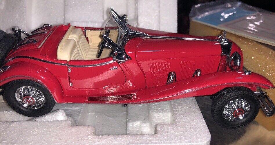 FRANKLIN MINT 1935 MERCEDES BENZ 500K SPECIAL ROADSTER