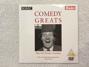 The-Sun-Promo-DVD-BBC-Comedy-Greats-Best-of-Tommy-Cooper