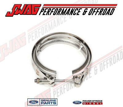 MBRP Aluminized Turbo Down Pipe /& OEM Ford Gasket /'08-10 Ford Powerstroke 6.4L