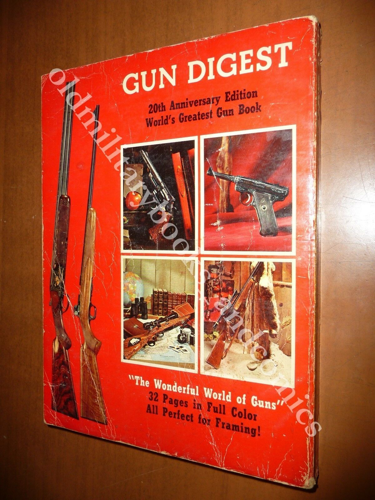 GUN DIGEST 1966 WORLD'S GREATEST GUN BOOK JOHN T. AMBER PISTOLE FUCILI REVOLVER