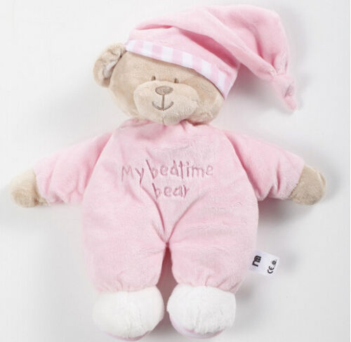 new soft plush sleepy bear baby toy my bedtime bear blue pink birthday gift 1pc