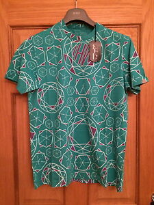 MAHARISHI-MHI-HOMMES-VERT-MENTHE-COL-ROND-T-SHIRT-TAILLE-S-amp-M