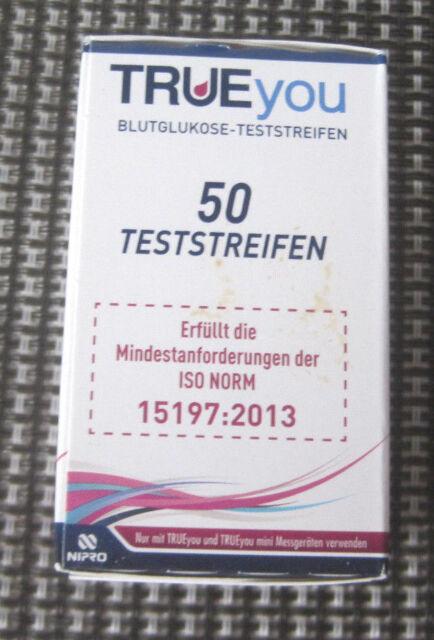 1 x 50 TRUEyou Blutzucker Teststreifen  NEU/ OVP