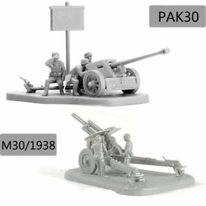 4D-1-72-Scenario-PAK40-M30-M1938-Assembly-Model-Cannon-Assemble-Puzzle-Brick-Toy