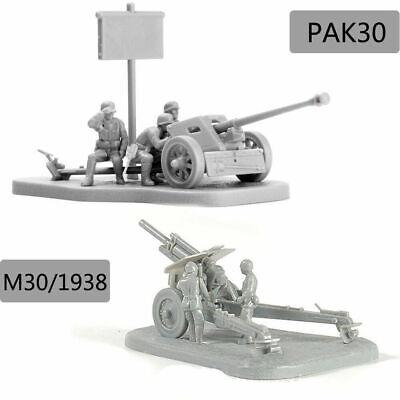 1:72 Scenario PAK40 Assembly Model Scene Puzzles Building Bricks Weapon