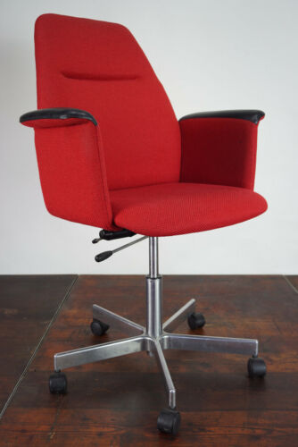 Vintage Bürostuhl Drehstuhl Schreibtisch Stuhl Chefsessel Ring Mekanikk Norway