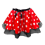 Ladies-MINNIE-MOUSE-Style-Costume-Fancy-Dress-12-034-length-SKIRT-AND-EAR-SET thumbnail 3