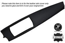 BLACK STITCH DASH DASHBOARD  TRIM LEATHER SKIN COVER FITS BMW Z4 E85 E86 03-09