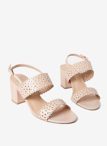 2971f477d9d Ex Dorothy Perkins Wide Fit Pink  Sugar  Heeled Sandals Size 3 - 8 ...