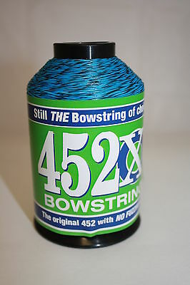 Green /& Black Speckled 1//4lb BCY 452X Bowstring Material Bow String Making