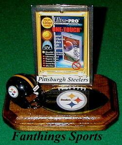 Pittsburgh-Steelers-NFL-Sports-Card-Display-Holder-Helmet-Logo-Gift