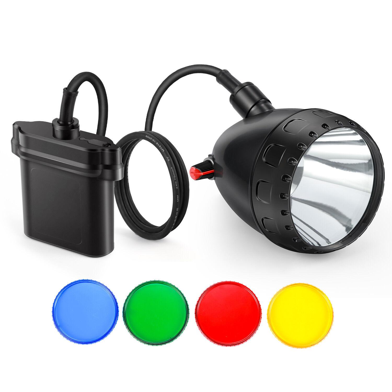 Kohree Hunting Light 10W Cree LED Miner Light Mining Lamp Fishing Camping