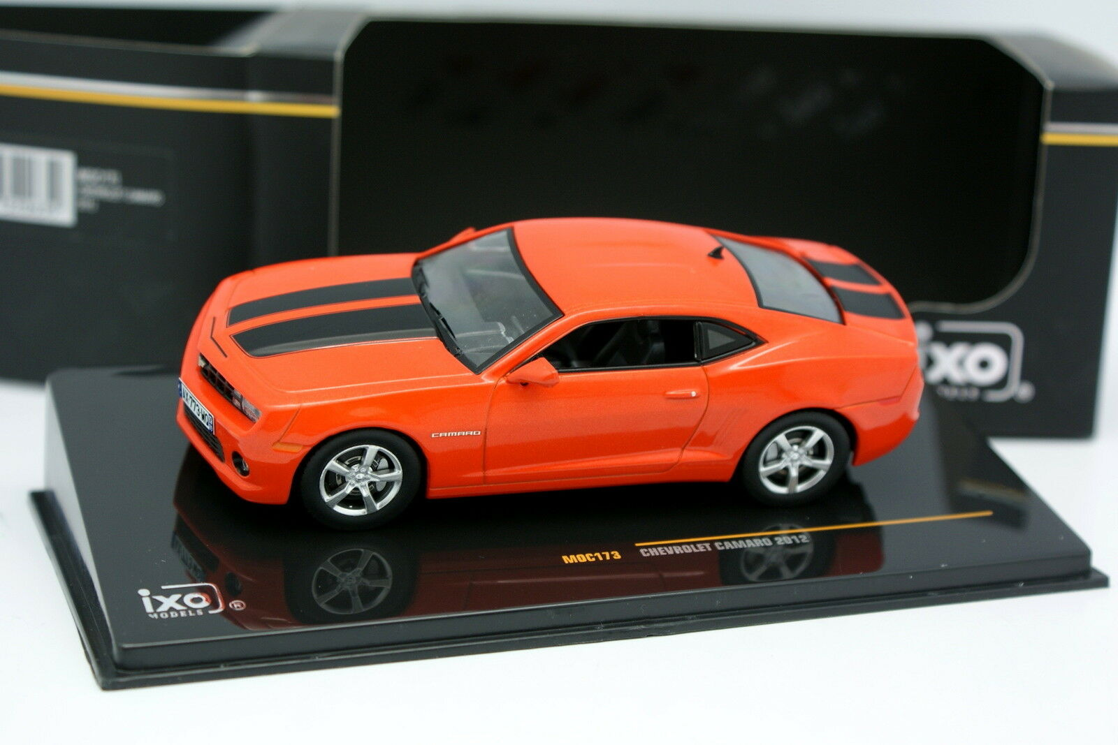 IXO 1 43 - 2012 Chevrolet Camaro orange