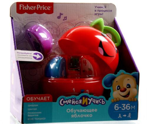 Fisher-Price New Born Lernspaß Spielzeug Apfel mit Sound Russische Sprache