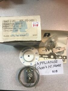REFRIGERATOR-PUSHBUTTON-DEFROST-K-253-REPLACE-F50-14001-FREE-SHIP