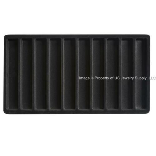 Jewelry Travel Sales Storage Case with  12 Trays /&  Liners Inserts