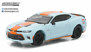 Greenlight-1-64-2016-Chevy-Camaro-SS-Gulf-Oil-Hobby-Exclusive