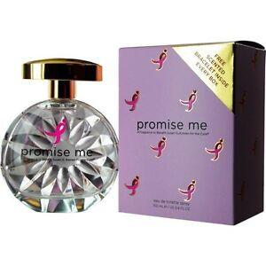 Promise-Me-Eau-de-Toilette-Susan-G-Komen-para-The-Cure-3-4-OZ-Pulsera-Gratis