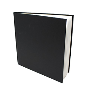 Casebound Square Sketchbook Acid Free Paper Hardback Cover Artway Studio