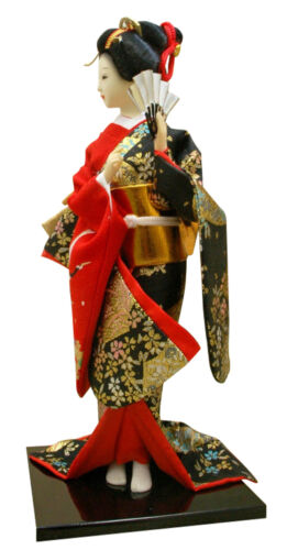 Figure #3 Authentic Geisha Doll 12 inches