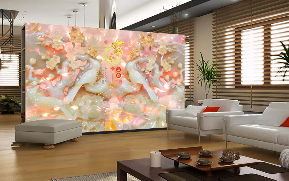 3D Petal Horse 663 Wallpaper Murals Wall Print Wallpaper Mural AJ WALL AU Lemon