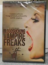 Bloodsucking Vampire Freaks (DVD, 2013) RARE EROTICA HORROR BRAND NEW