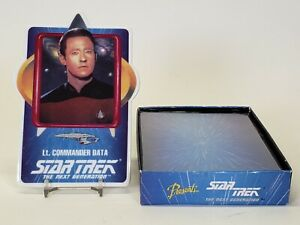 1992 Hamilton Star Trek Next Generation Porcelain Trading Card Lt Commander Data