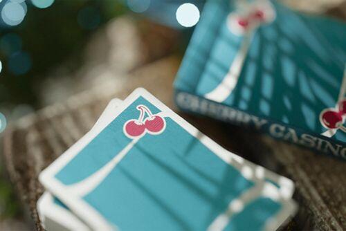 Tropicana Teal cardistry carte da gioco poker Magic Cherry Casinò