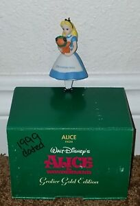 Alice Wonderland 1999 Disney Grolier Christmas Ornament ...
