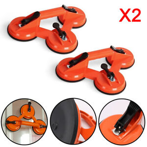 Triple-Glass-Suction-Cup-Puller-Lifter-Gripper-Mover-Sucker-Pad-Auto-Tool-UK