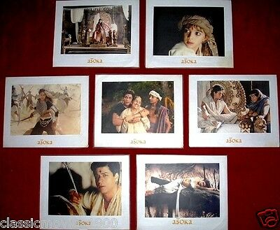 ASOKA (2001)7 LOBBY CARDS LTD EDITION BOLLYWOOD SHAHRUKH KHAN KAREENA KAPOOR