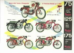1959 Mondial 75/ 125/ 175cc REPRO advertisement poster