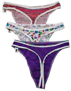 367cc1fde912 Fruit of the Loom 6 Thongs panties ( 2 packs of three ) - 100 ...